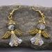 Sweet Angel Earrings - Clear