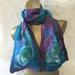 Nuno silk and merino scarf