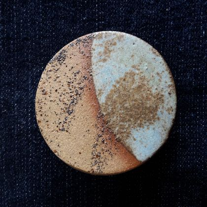 Beach - Ceramic Brooch