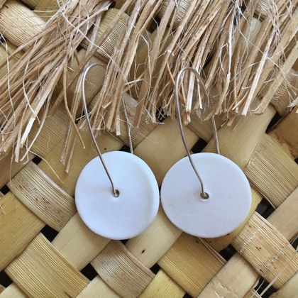 Porcelain Earings - Two Pairs