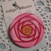 Brooch ~ Petals of Pink