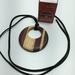 Multi wood pendant