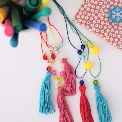 Fringe and Beaded Necklaces