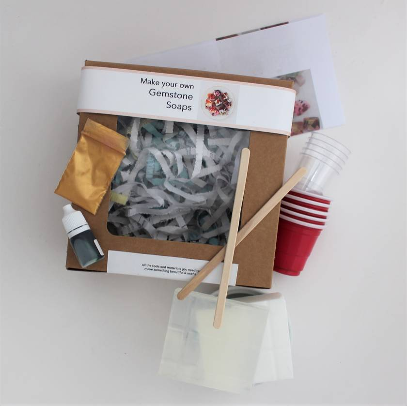 Gemstone Soap Making Kit