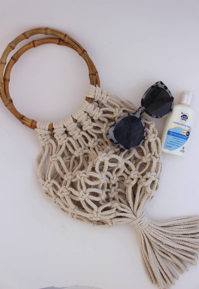 Make Your Own Macrame Bag