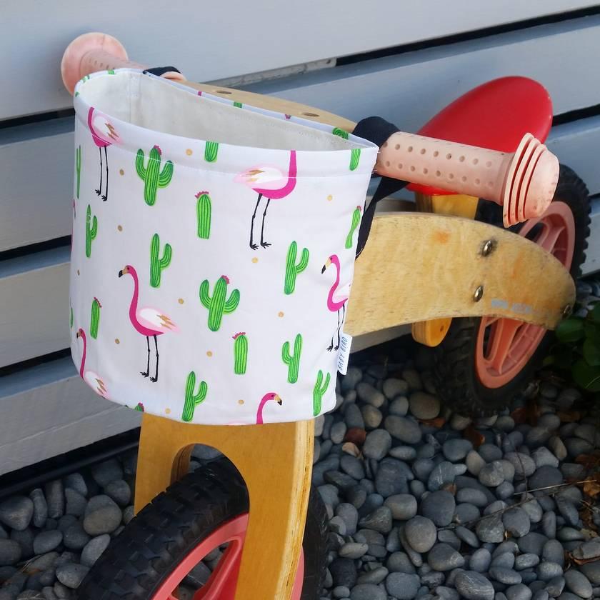 Flamingo Bike Basket - REDUCED