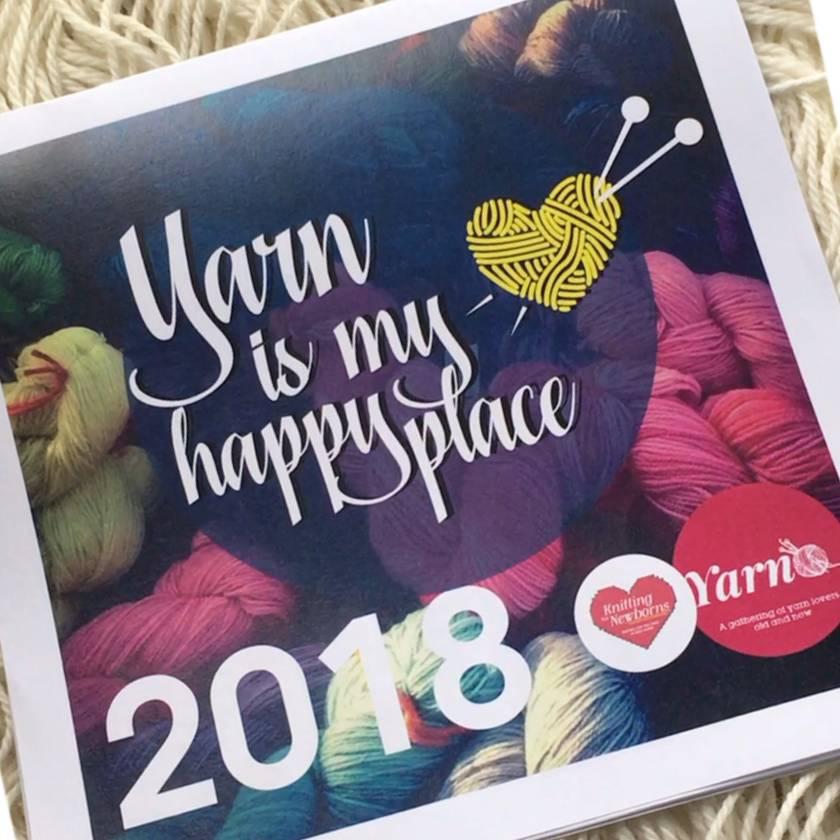 Yarn Lovers 2018 Calendar