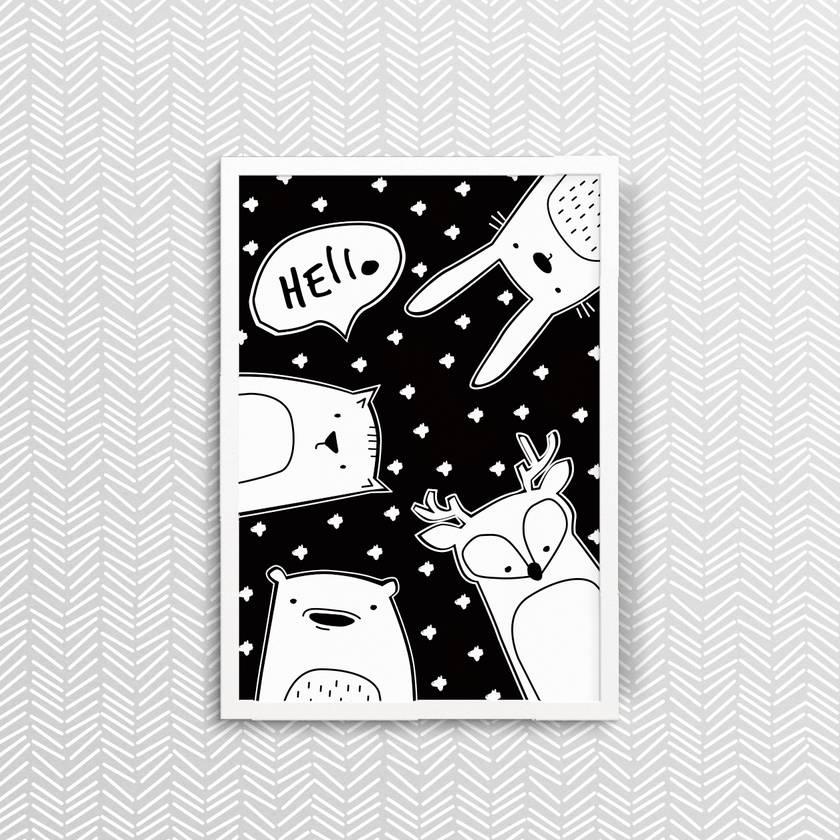Hello Friends - Print