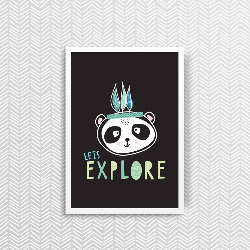 Let's Explore - Print
