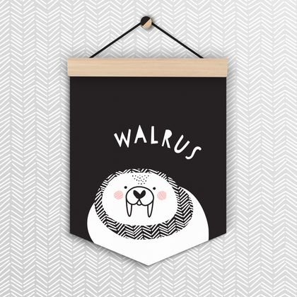 Walrus - Wall Flag
