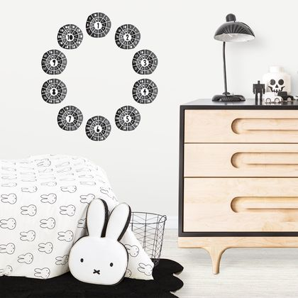 Times Tables Decals with FREE work Sheets