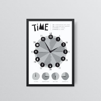I Can Tell The Time - Print