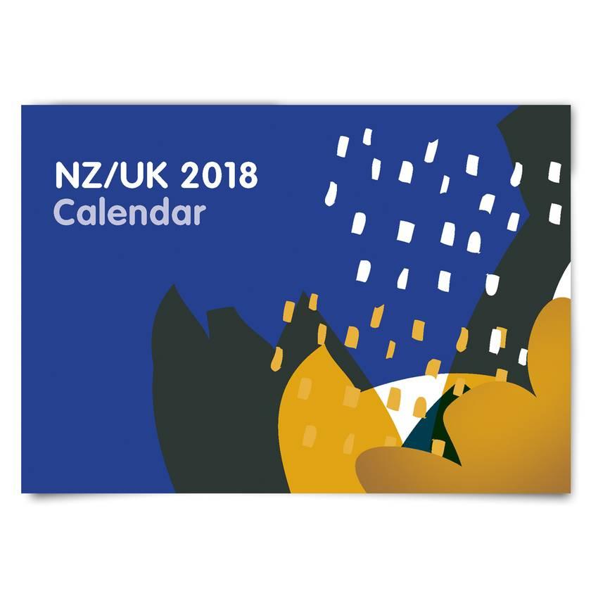 NZ / UK Dual Date calendar