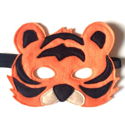 Tilly the Tiger Felt Facemask
