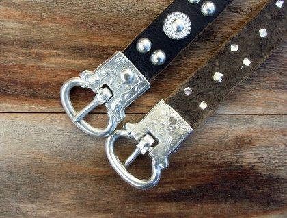 Medieval-style decorative buckle