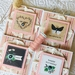 Beautiful Notecard Packs - 4 cards (Pink)