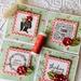 Beautiful Notecard Packs - 4 cards (Red)