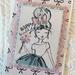 'Happy Birthday' Girl Card
