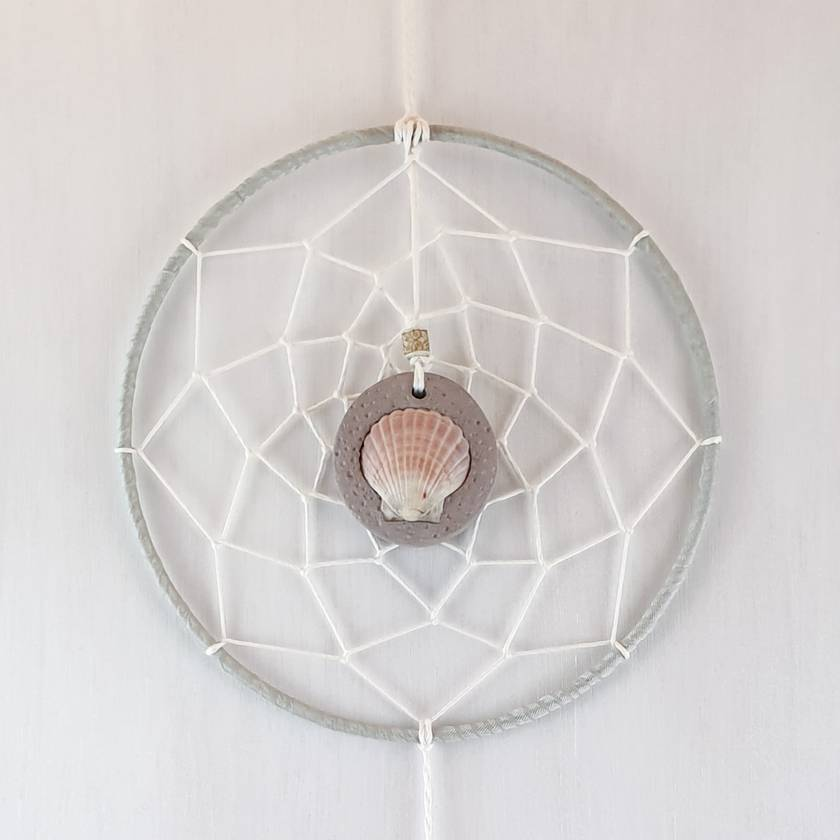 Pink & Grey Dreamcatcher