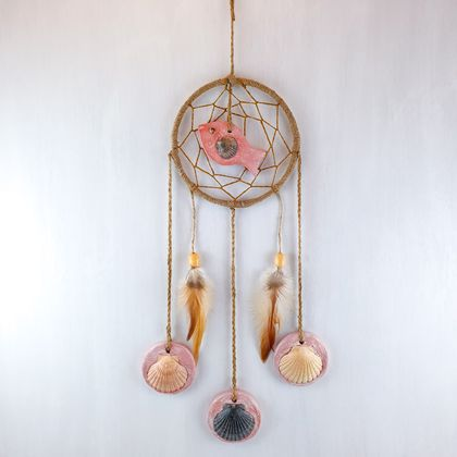 Terracotta Boho Dreamcatcher