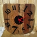Re purposed Wooden clock