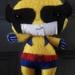 Wolverine felt Toy