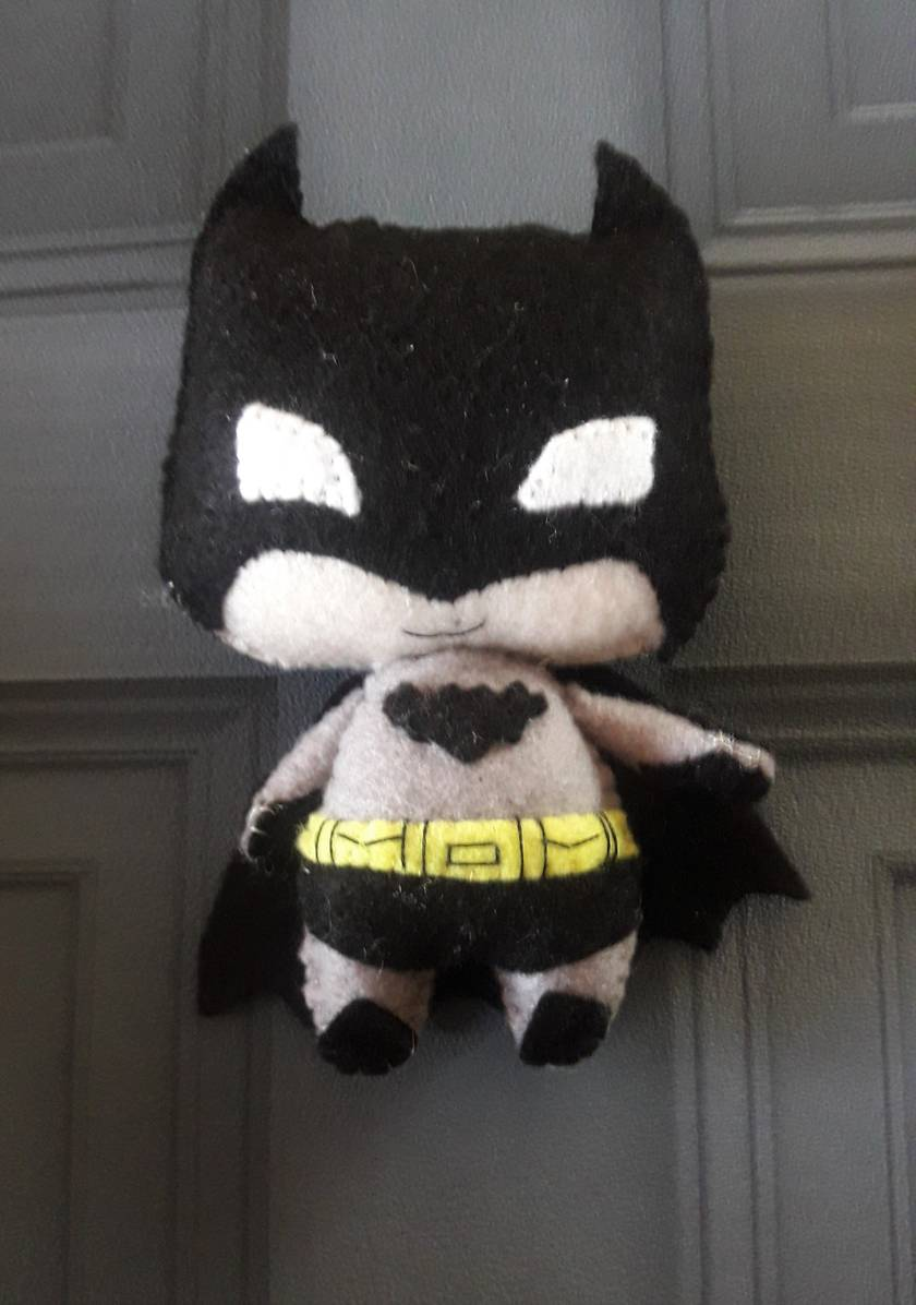 Batman felt Toy