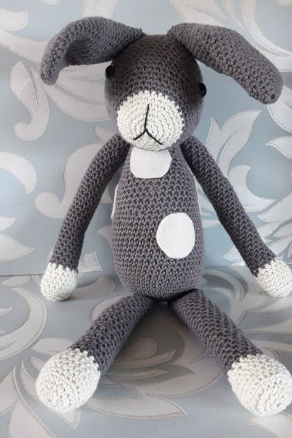 Roger Rabbit Crochet Soft Toy