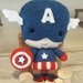 Captain America Felt Toy