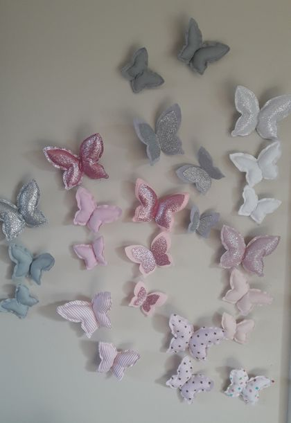 Butterfly Padded Wall Decals