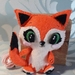 Fox Felt soft toy (Palm size)