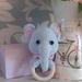 Elephant Eli Blue & Eli Pink Rattle