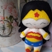 Wonder Woman Felt Toy