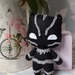 Black Panther Felt Toy