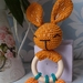 Rabbit Rattle with Carrots
