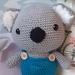 Blinky bill Kola crochet soft toy