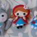 Felt Red Riding Hood set of 3