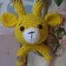 Yellow Giraffe Rattle