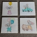 Handpainted nursery wall paintings