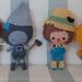 Wizard of Oz Felt toys
