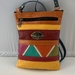 Genuine Leather handcrafted multi coloured Handbag