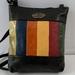 AJ19 genuine leather multi coloured hand bag