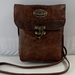 Pouch 3 0  Brown Leather Shoulder bag