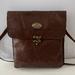 JJ7XLP. Brown Leather Shoulder bag