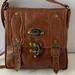 J2 genuine Leather Tan Shoulder Bag
