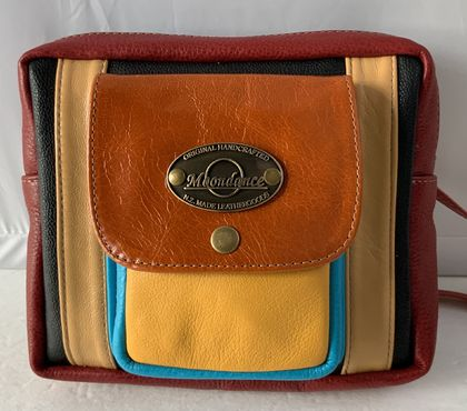 K3P Bright Leather Shoulder Bag
