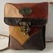 JJ7 Brown Multi. Coloured Leather Bag