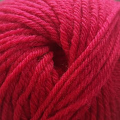 Lovells Knits - Merino Knitting Yarn 8 ply 50gm - Red Robin