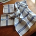 Handwoven kitchen / tea towels  'Classic Blue and White'