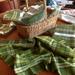 Handwoven kitchen / tea towels  'Brilliant Green' Range